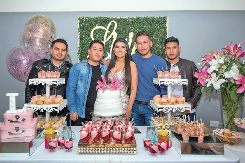 Jorge, Julián, Lirio, Lizandro y José.