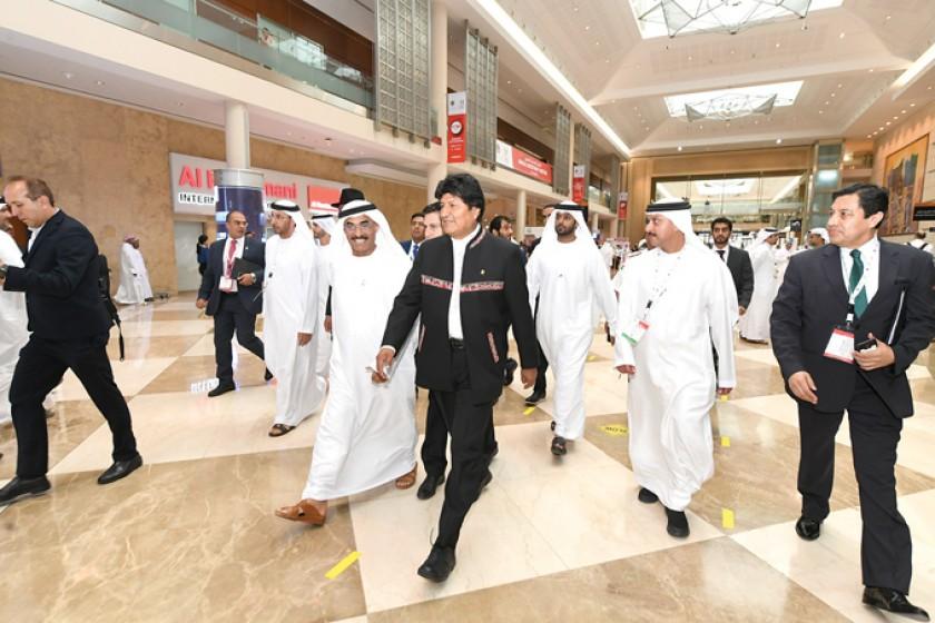 Dubái: Evo oferta a inversores litio, tren bioceánico, hidrovía y hub