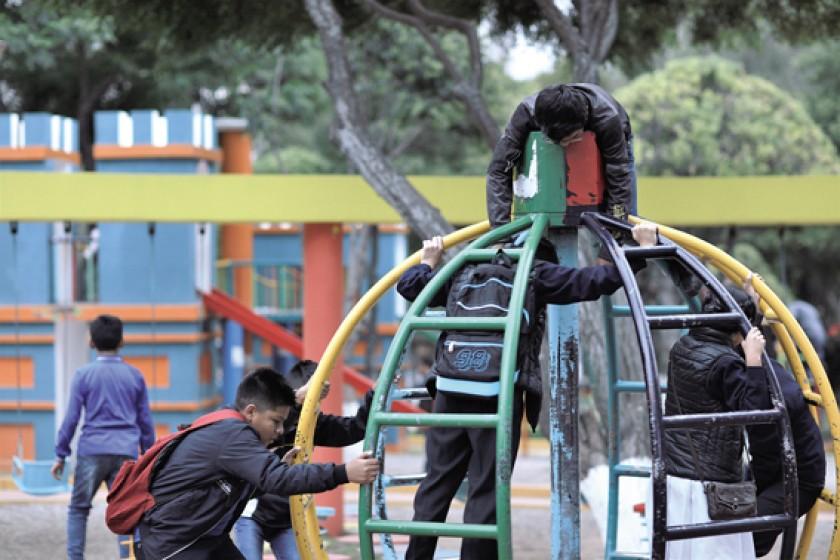 Sucre tiene 1 parque por cada 1.000 niños