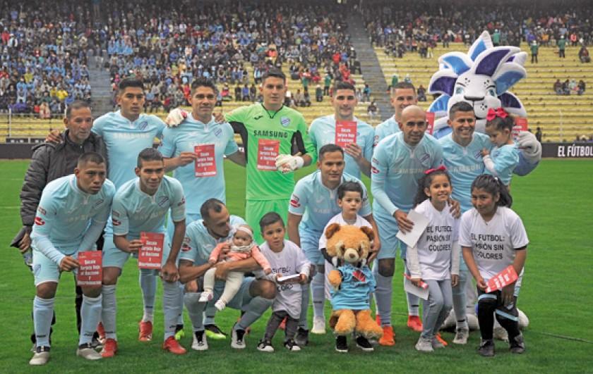 El plantel de Nacional Potosí intentará quitar del camino a Bolívar en el estadio Victor Agustín U.