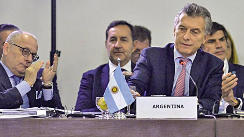 UNASUR. Macri en anteriores reuniones.