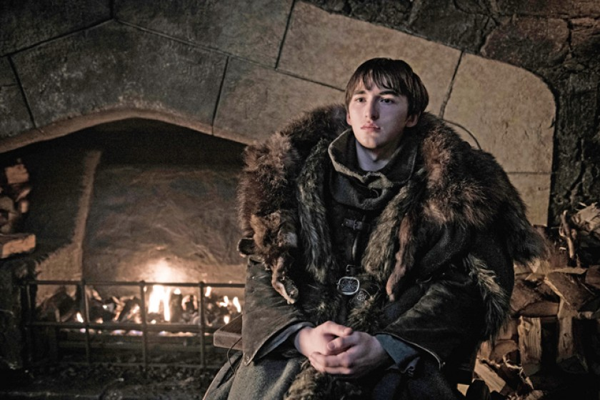 Isaac Hempstead-Wright es el actor del Reino Unido que da vida al personaje de Brandon Stark.