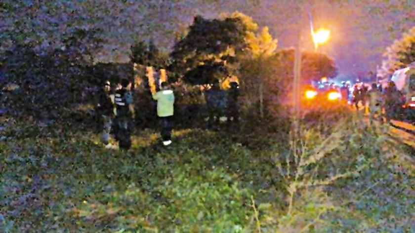 BÚSQUEDA. La niña fue encontrada a las pocas horas gracias a la movilización de vecinos.
