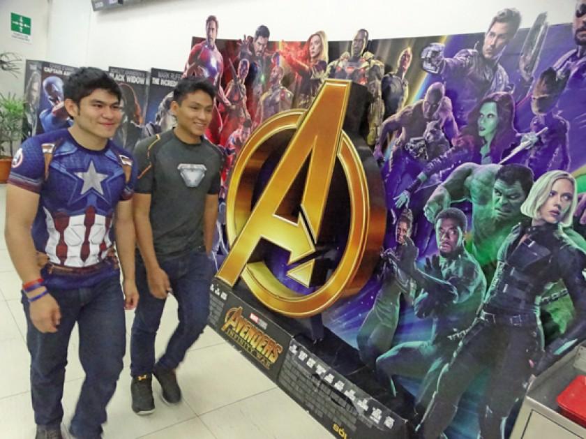 PREMIER. El cine SAS en Sucre se sumó al estreno mundial de AvengersEndGame.