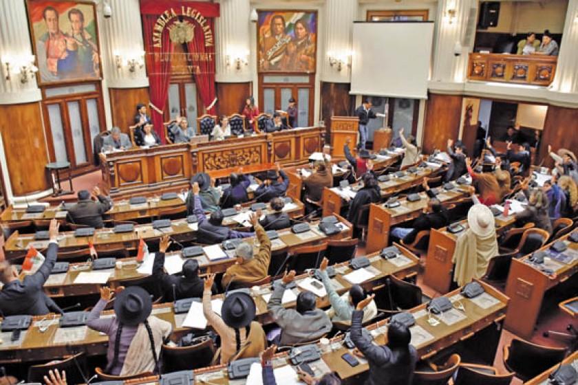CONSENSO. La Ley de Abreviación Procesal Penal contó con el respaldo de los legisladores.