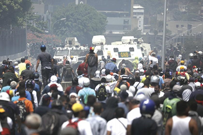 Rebelión en Venezuela