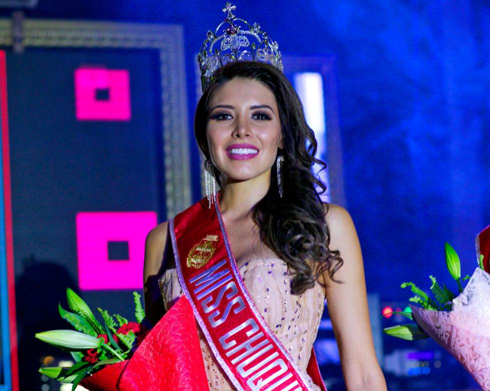 Valentina Pérez se llevó el máximo título de belleza de Chuquisaca