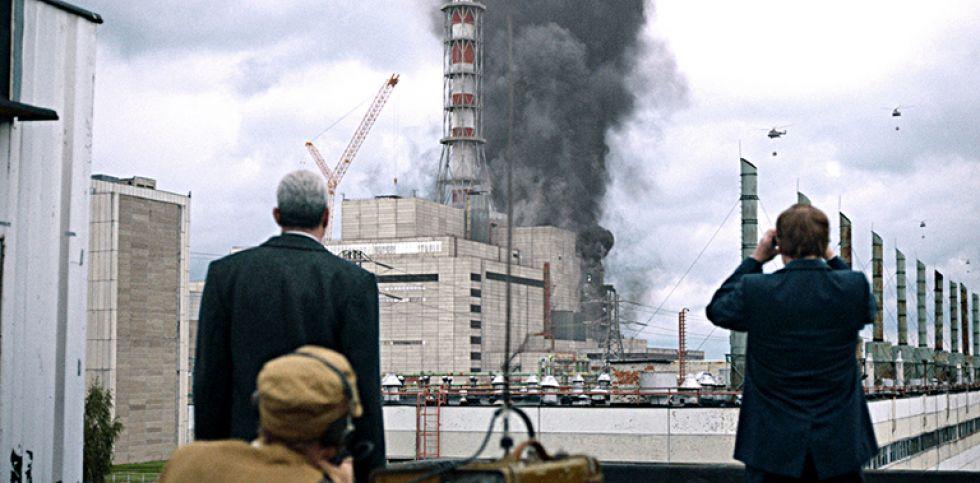 """30/04/2019.- Imagen facilitada por HBO que muestra un fotograma de """"Chernobyl"""", una miniserie sobre el desastre nuclear de los años 90 que se estrenará el mes de mayo. EFE/HBO"""