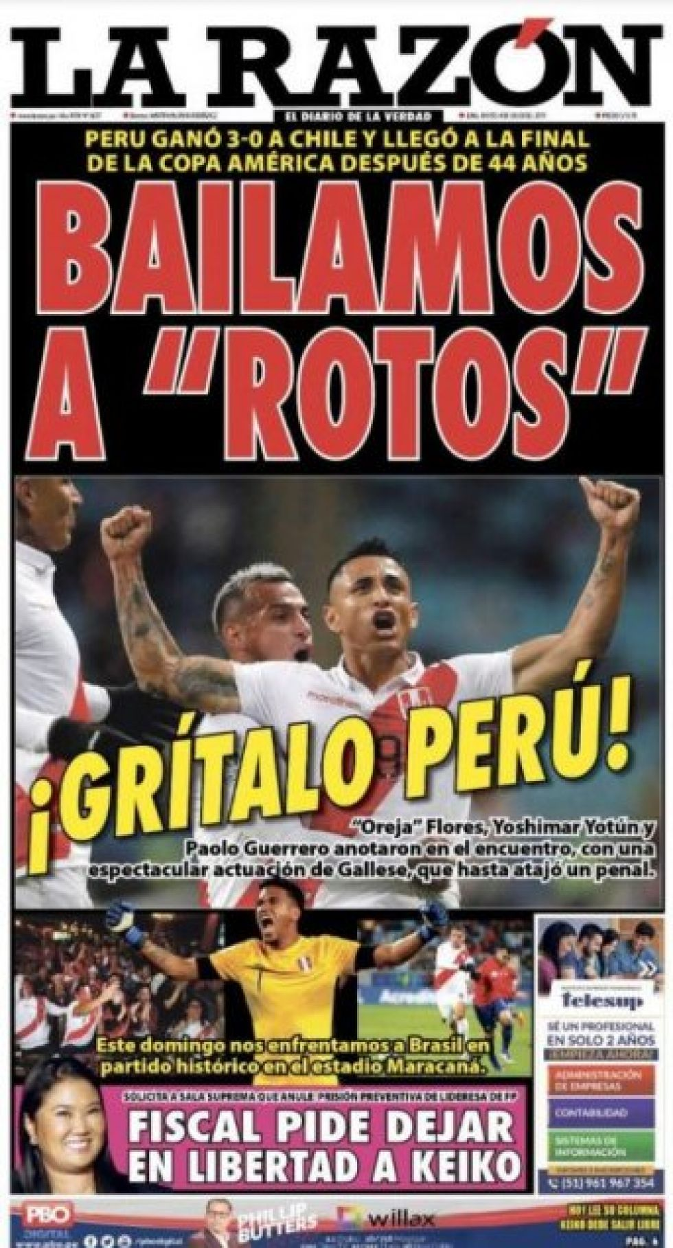La Razón de Perú