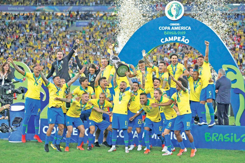 Brasil, rey  de América