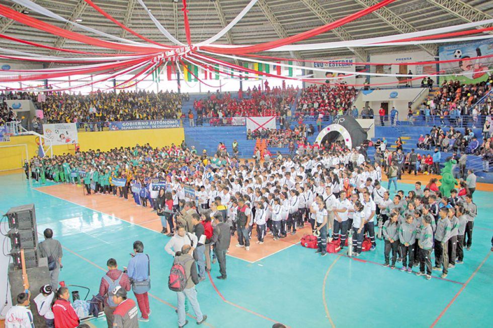 La inauguración de desarrolló ayer en el coliseo Jorge Revilla Aldana (JRA).