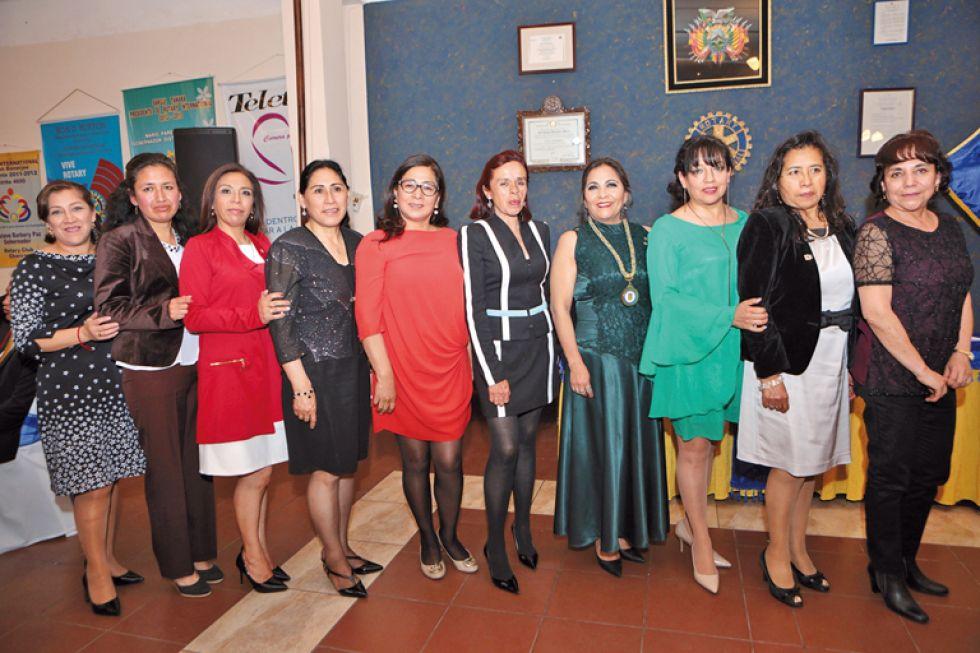 Damas Rotarias de Charcas.