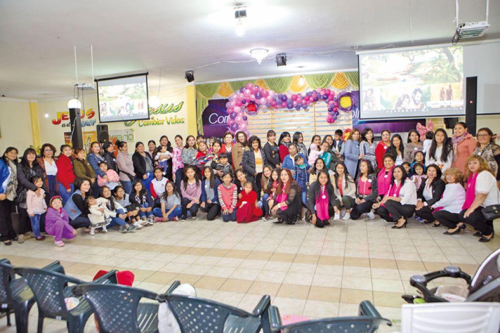 Grupo de apoyo, Mujeres con Propósito.