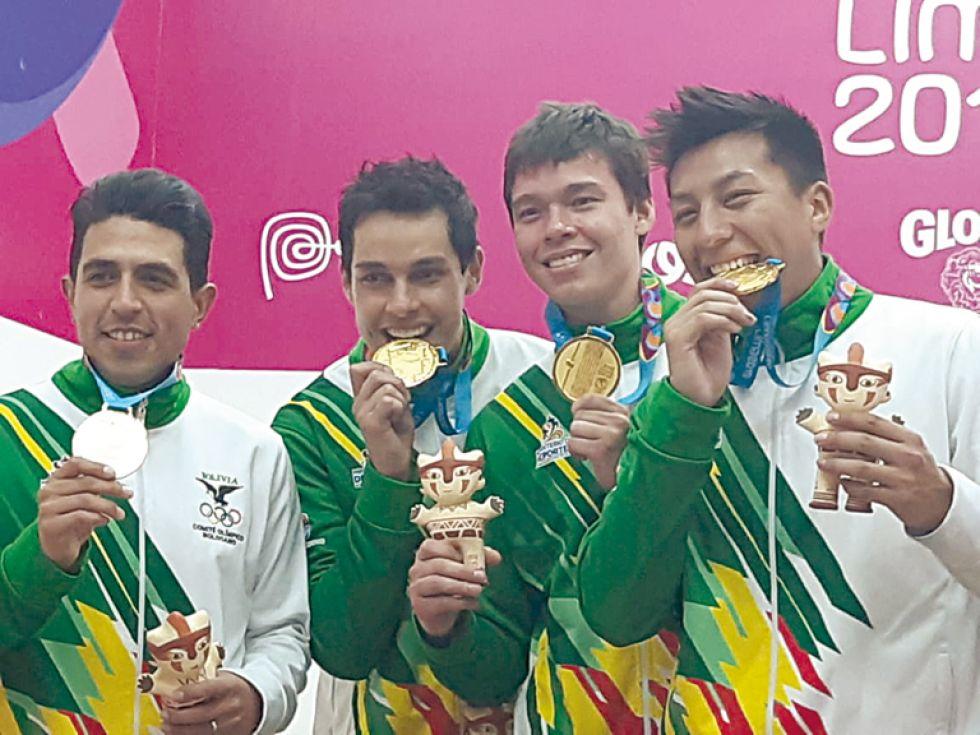 El equipo masculino campeón