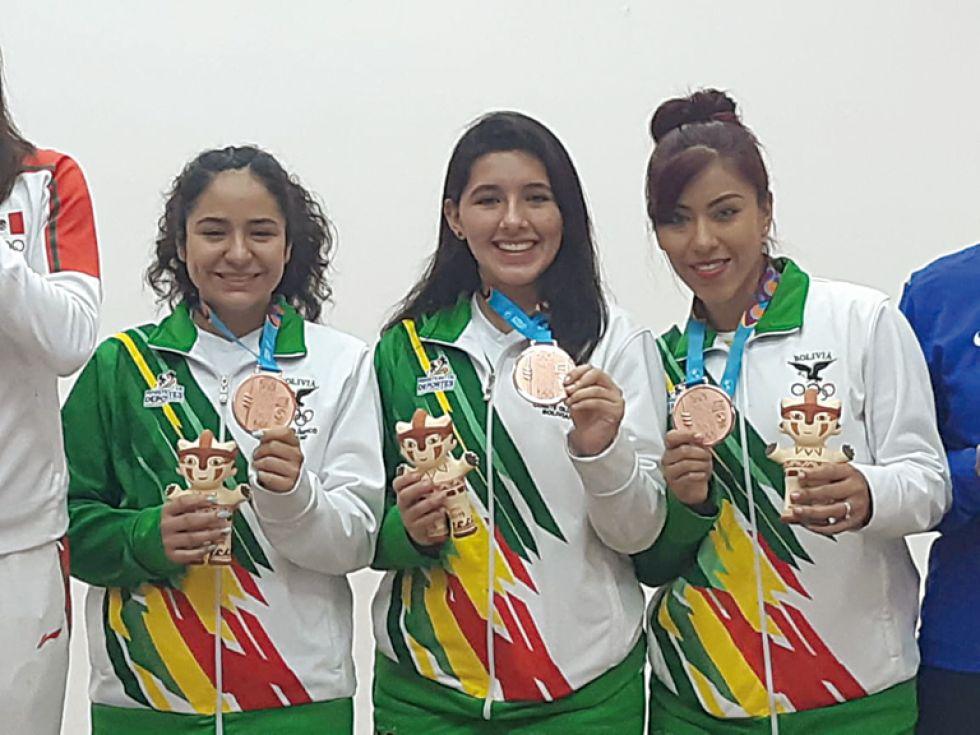El equipo femenino que se colgó el bronce