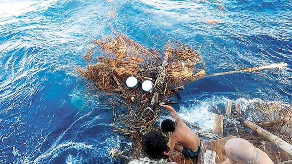 PÉRDIDA. El sueño de la expedición fue consumido por el mar.
