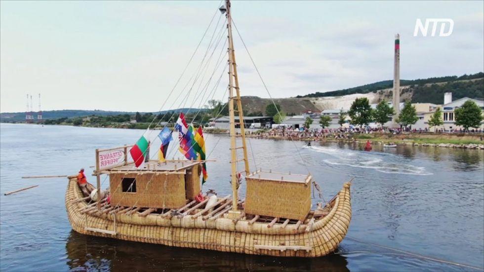 ABORA IV. La embarcación zarpará a fin de mes, desde Bulgaria y con destino a Chipre.