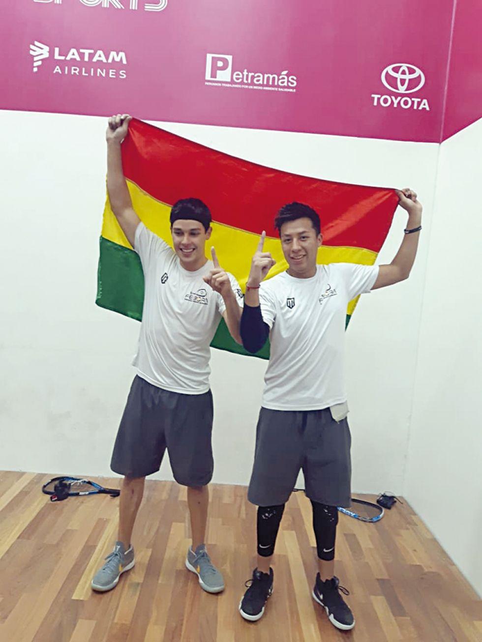 Roland Keller y Conrrado Moscoso lograron el punto decisivo para la medalla de oro