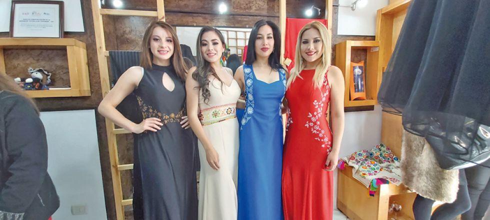 Laura Gómez, Valeria Poppe, Yngrith Yllanez y Carol Daza.