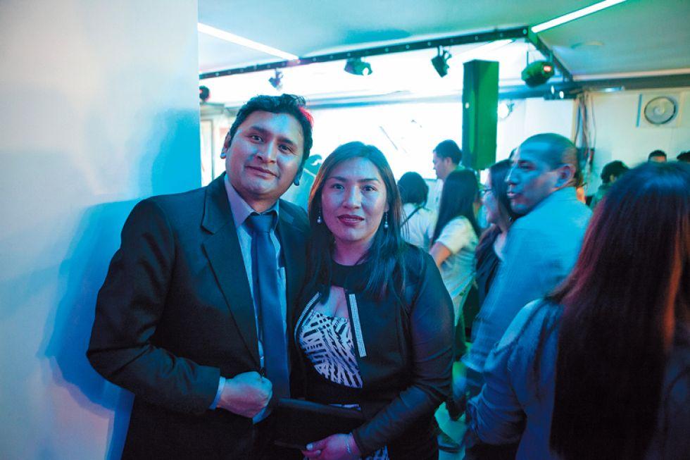 Richard Díaz y Zeyla Fernández.