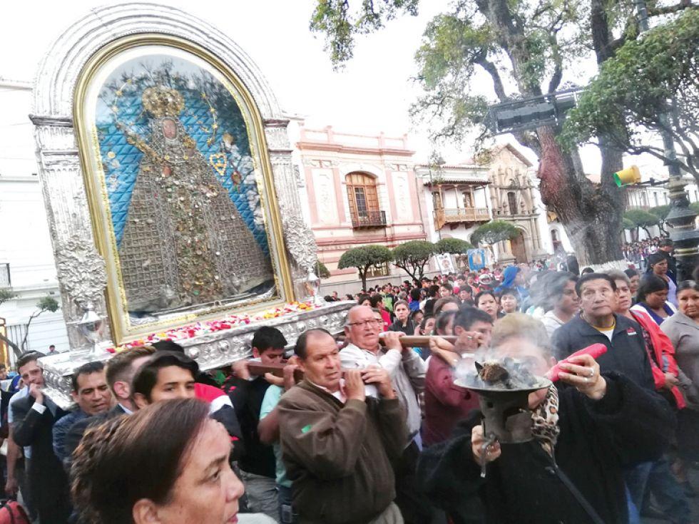 Guadalupe: Se abre novena con pedidos  para la Chiquitanía