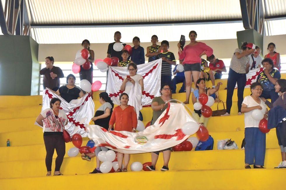 Los papás del Colegio Boliviano Alemán viajaron a Cobija.