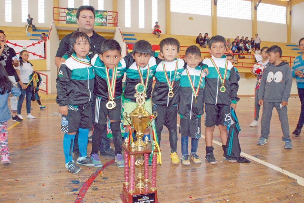 Avaroa Jhunior se quedó con el título en la categoría Sub 7.