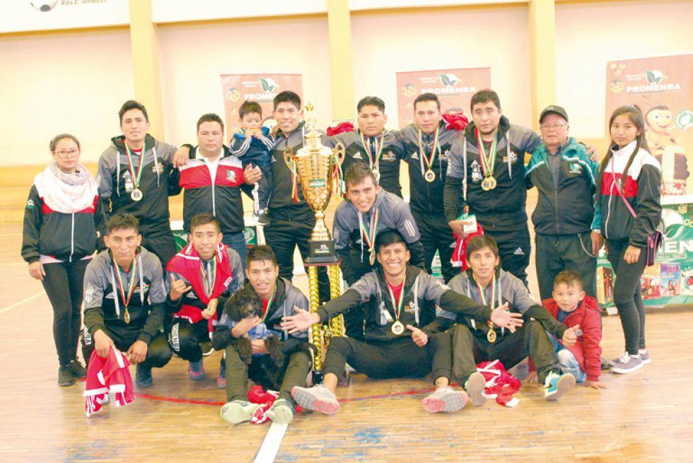 El equipo de Villazón se coronó campeón de la categoría Libre del campeonato 2019 de la Copa Promenba.