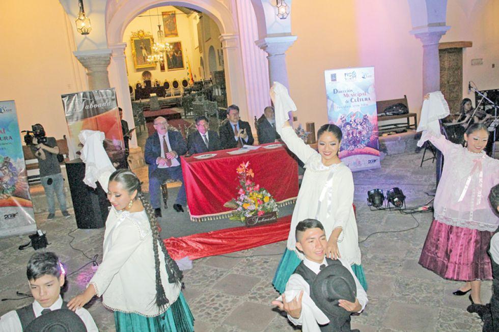 INAUGURACIÓN. La Casa de la Libertad y El Rosedal fueron escenarios del acto protocolar y el espectáculo inaugural del FIC 2019.