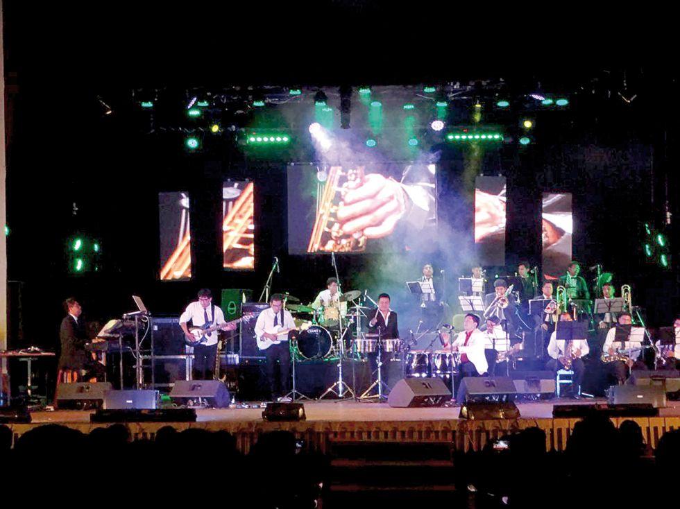 Una noche indiscutible con Sucre Big Band Jazz