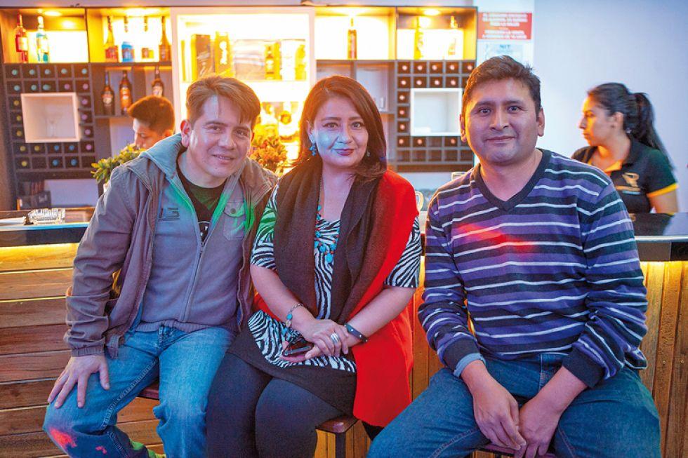 Juan Pablo, Paola y Richard