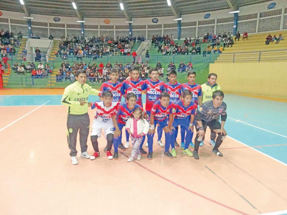 Universitario serán los anfitriones de la Serie B de la Liga Nacional de Futsal.