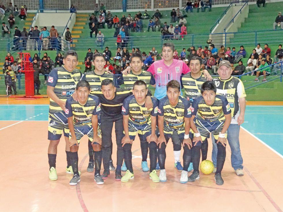 Lizondo serán los anfitriones de la Serie B de la Liga Nacional de Futsal.