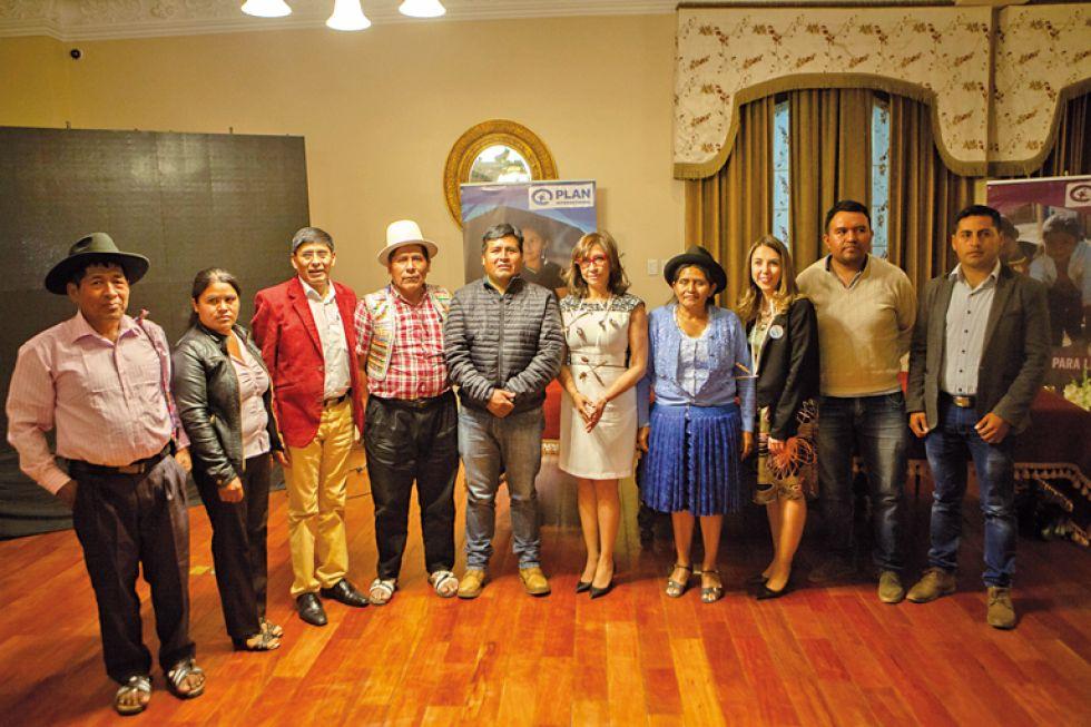Alcaldes y autoridades de los distintos municipios de Chuquisaca.