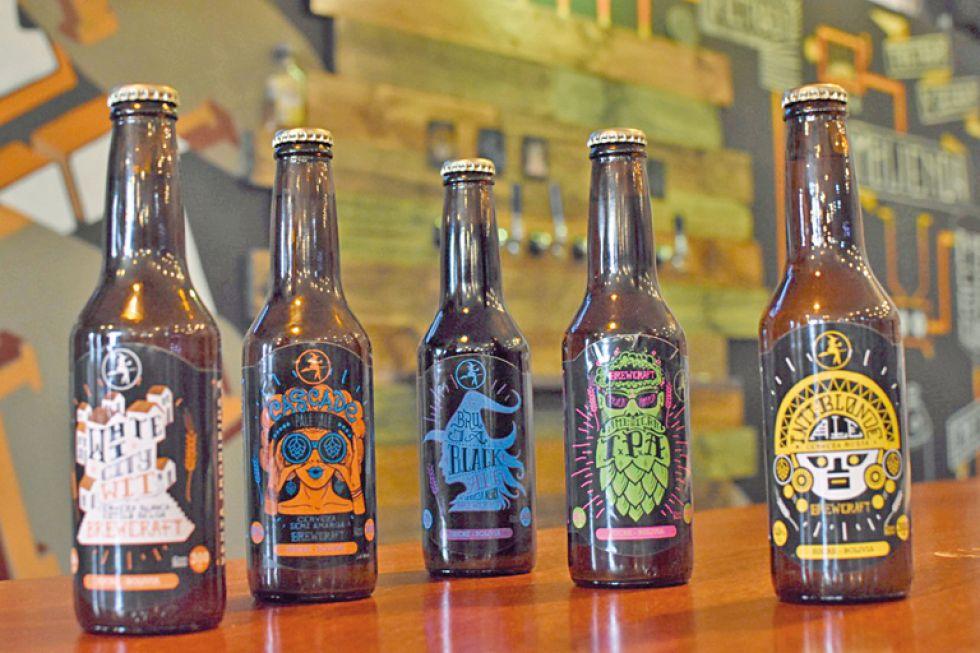 Sucre: Brewcraft Restaurante y Bar ofrece cerveza de primera calidad
