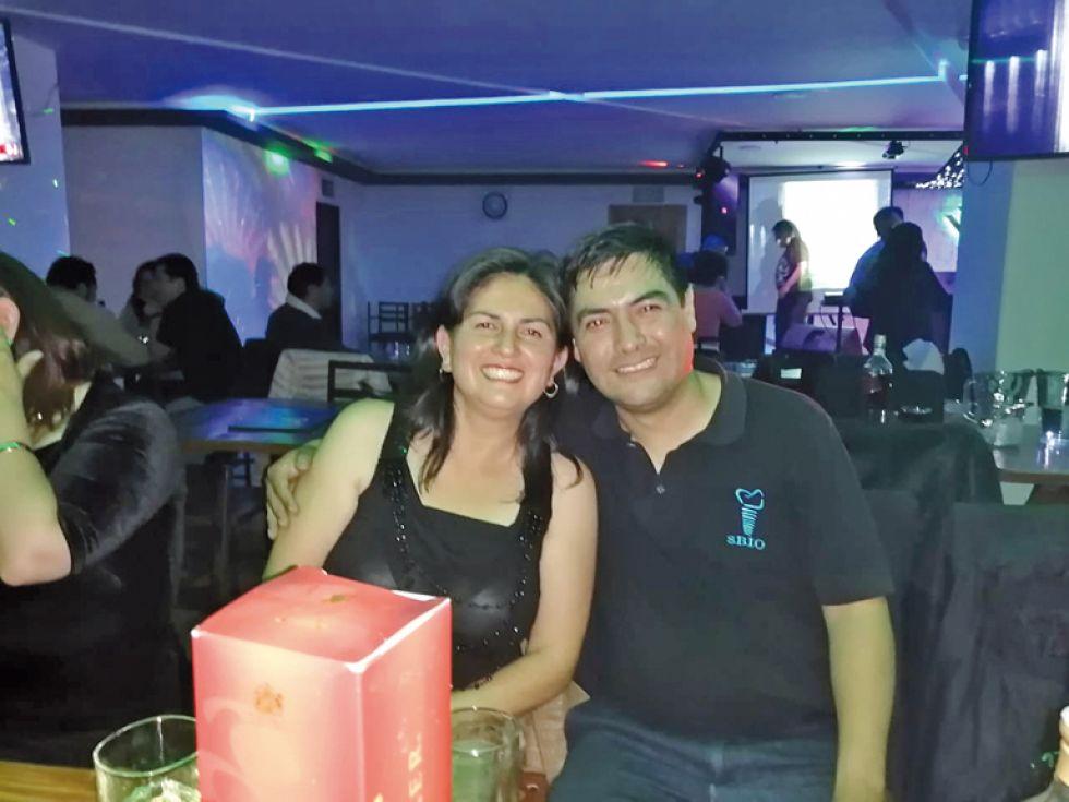 María Jesús Villafán y Luis Alberto Zapata.