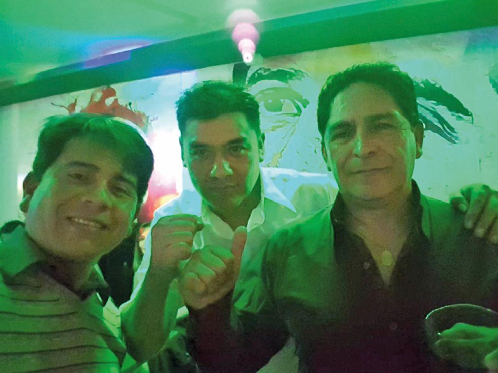 Juan Pablo, Diego y Fernando.