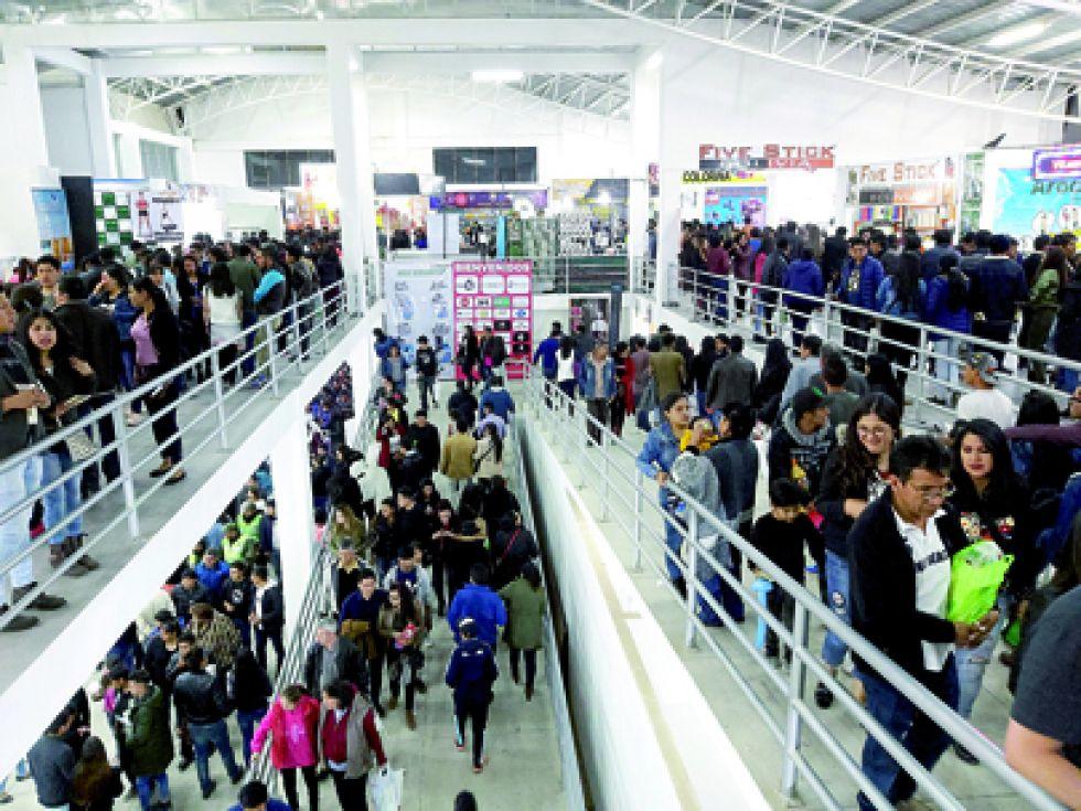 Fexpo cierra  con récord de asistencia  de público