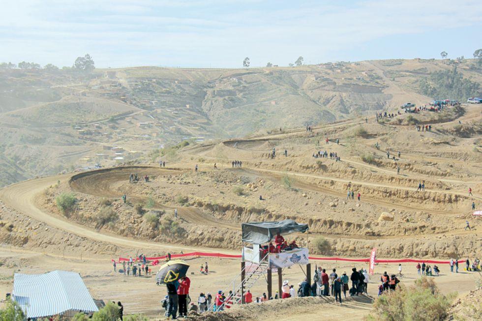 El circuito de Santa Catalina es el principal escenario para las competencias del motociclismo en Sucre.