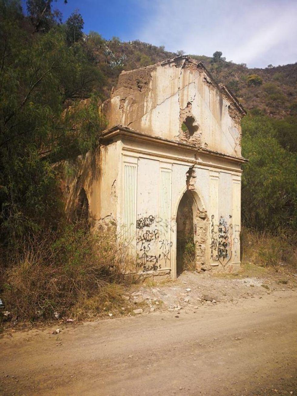 La zona donde se encontraría la bóveda en la que se hace sacrificios de animales.