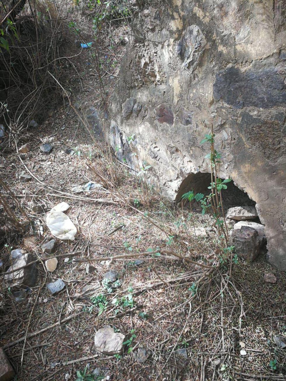 La bóveda usada para los sacrificios de animales.