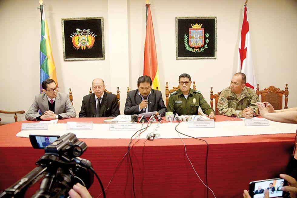 INFORMACIÓN. Las autoridades explicaron las tareas que desarrollarán durante las elecciones.