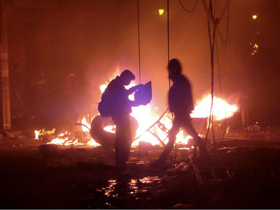 Violencia y tensión en el país