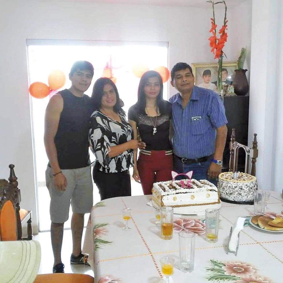 Familia Salazar Aramayo.