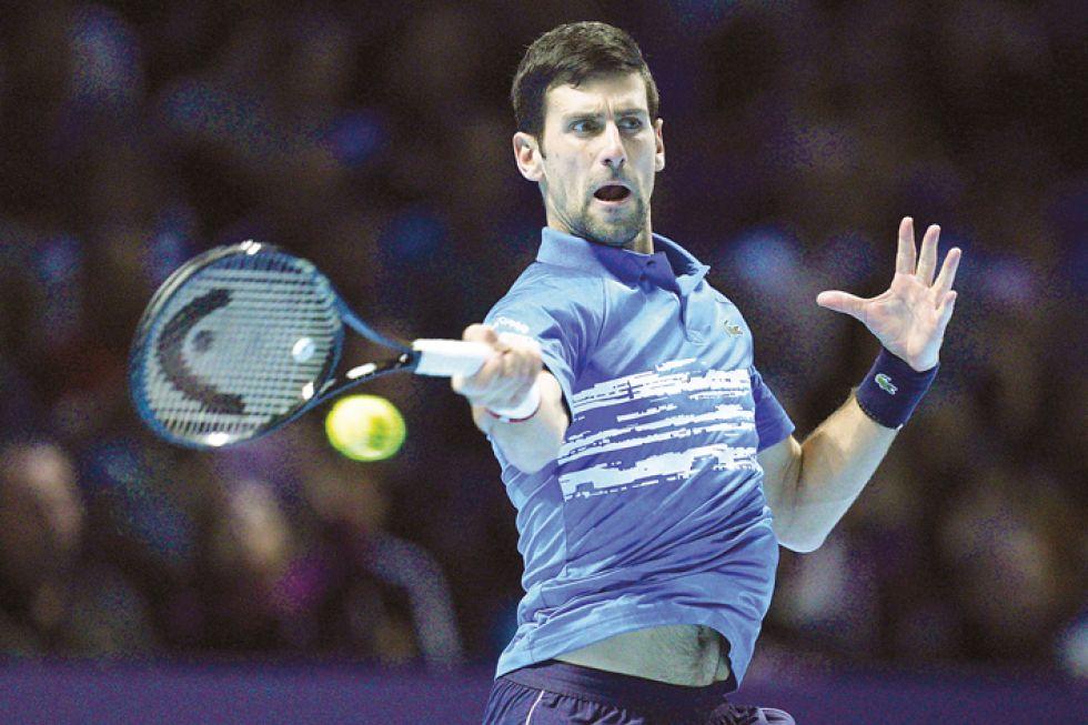 El serbio Novak Djokovic y el australiano Dominic Thiem vencieron ayer.