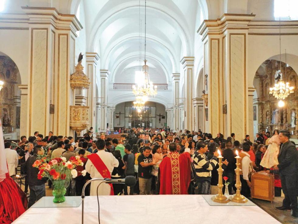 Eucaristía en honor a Santa Cecilia.