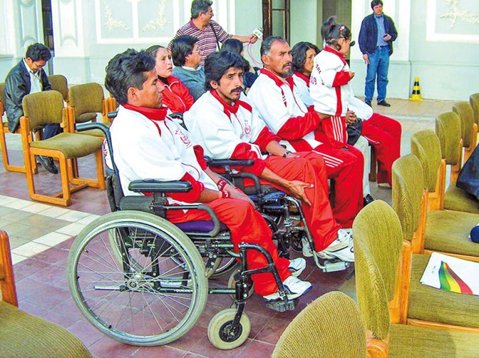 Sucre es un referente del deporte integrado a nivel nacional, en sus filas están destacados basquetbolistas.