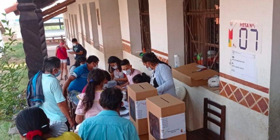 Tribunal Electoral recuerda que votos a favor de Libre 21, Juntos y ADN son computados como nulos