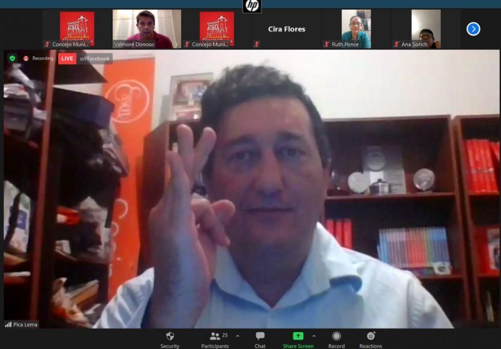 Lema reemplaza a Paz: es el nuevo alcalde de Tarija