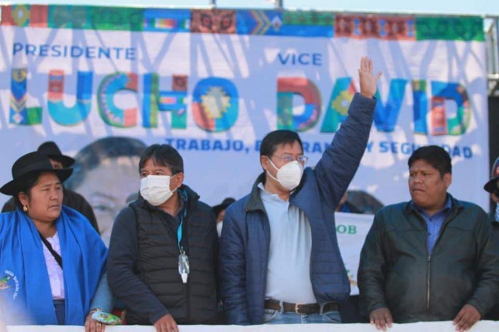 El MAS celebra con sectores en un festival cultural en El Alto